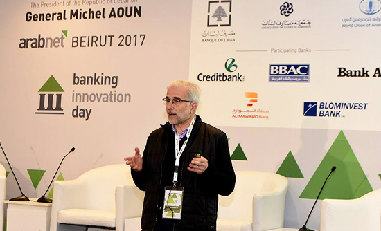 Arabnet pitch on WhatBanks