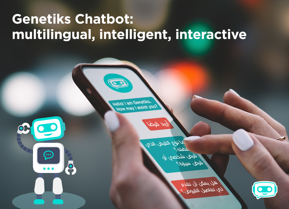 Netiks Chatbot: multilingual, intelligent, interactive